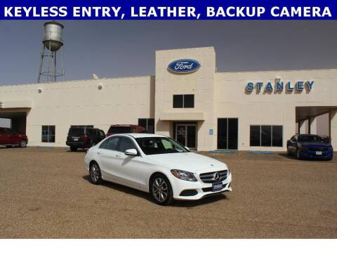 2017 Mercedes-Benz C-Class for sale at STANLEY FORD ANDREWS in Andrews TX