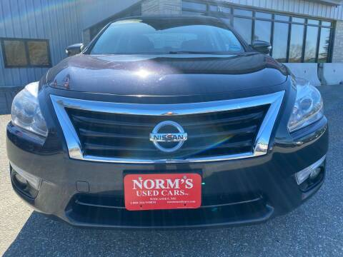 2015 Nissan Altima for sale at NORM'S USED CARS INC in Wiscasset ME
