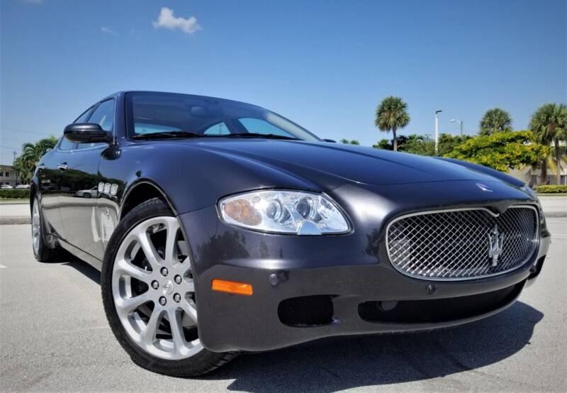 2008 Maserati Quattroporte for sale at Progressive Motors in Pompano Beach FL