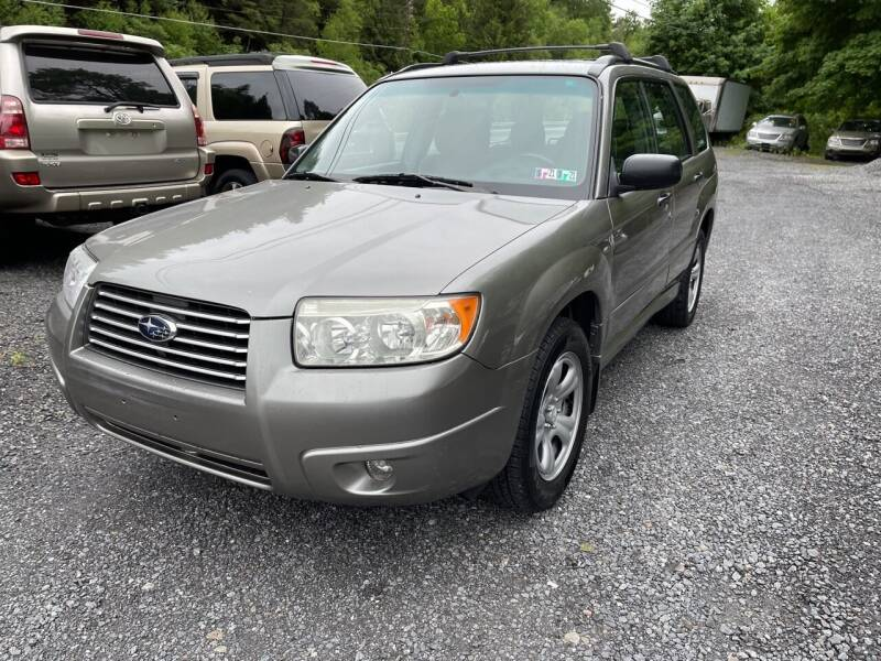 2006 Subaru Forester for sale at JM Auto Sales in Shenandoah PA