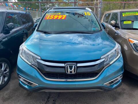 2015 Honda CR-V for sale at Polonia Auto Sales and Service in Hyde Park MA
