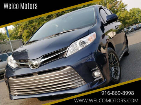 2018 Toyota Sienna for sale at Welco Motors in Rancho Cordova CA