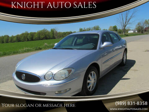 2006 Buick LaCrosse for sale at KNIGHT AUTO SALES in Stanton MI