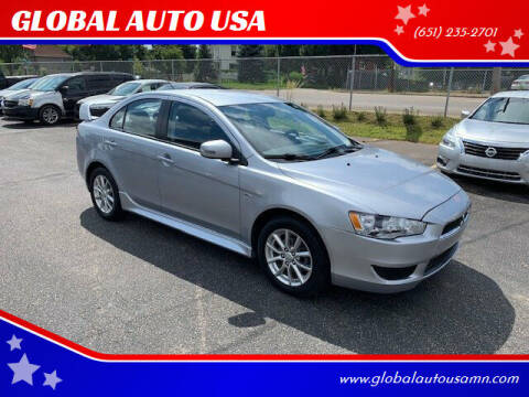 2015 Mitsubishi Lancer for sale at GLOBAL AUTO USA in Saint Paul MN