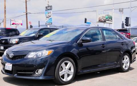 2014 Toyota Camry for sale at Luxor Motors Inc in Pacoima CA