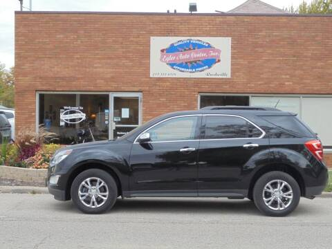 2017 Chevrolet Equinox for sale at Eyler Auto Center Inc. in Rushville IL