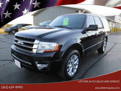 2015 Ford Expedition for sale at Lifetime Auto Sales and Service in West Bend WI