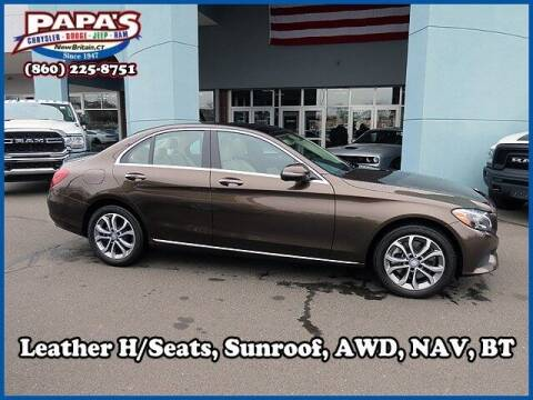 2017 Mercedes-Benz C-Class for sale at Papas Chrysler Dodge Jeep Ram in New Britain CT