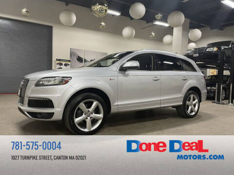2013 Audi Q7 for sale at DONE DEAL MOTORS in Canton MA