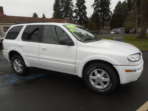 2002 Oldsmobile Bravada for sale at Lino's Autos Inc in Vancouver WA