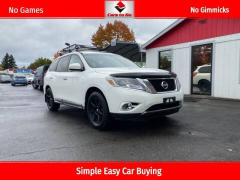 2014 Nissan Pathfinder for sale at Cars To Go in Portland OR