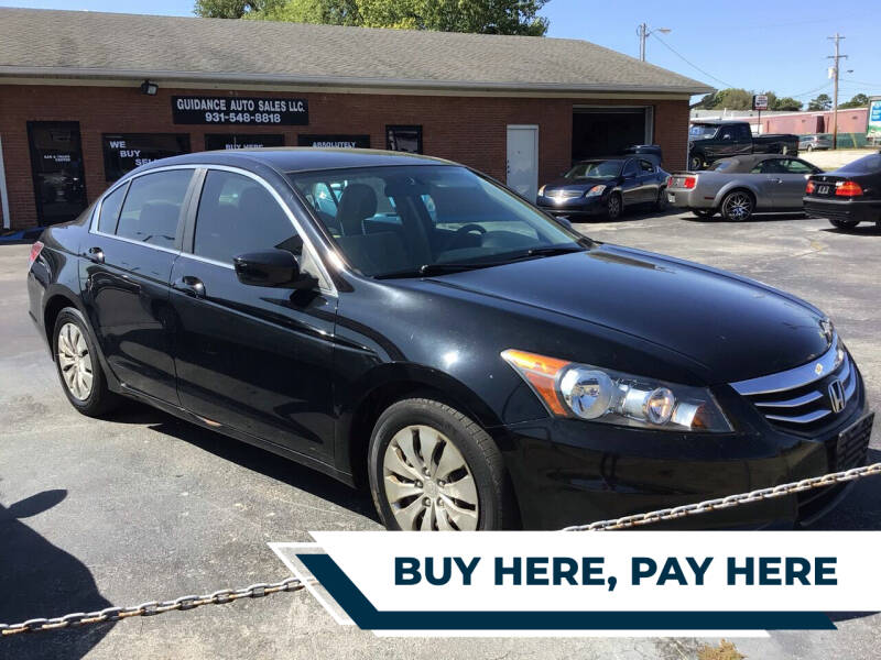 2012 Honda Accord for sale at Guidance Auto Sales LLC in Columbia TN
