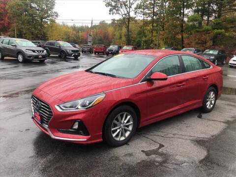 2018 Hyundai Sonata for sale at North Berwick Auto Center in Berwick ME