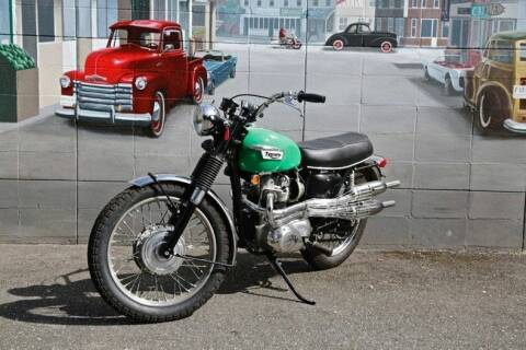 1969 Triumph T100C for sale at Drager's International Classic Sales in Burlington WA