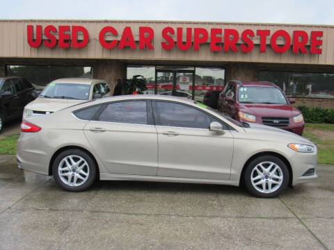 2016 Ford Fusion for sale at Checkered Flag Auto Sales NORTH in Lakeland FL