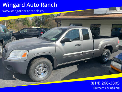 2008 Mitsubishi Raider for sale at Wingard Auto Ranch in Elton PA