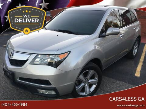 2011 Acura MDX for sale at Cars4Less GA in Alpharetta GA