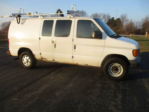 2007 Ford E-Series Cargo for sale at Crossroads Used Cars Inc. in Tremont IL