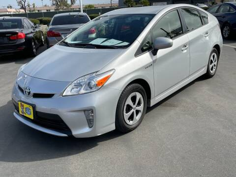 2015 Toyota Prius for sale at CARSTER in Huntington Beach CA