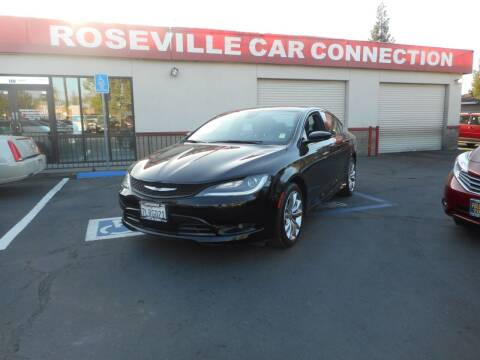 2015 Chrysler 200 for sale at ROSEVILLE CAR CONNECTION in Roseville CA