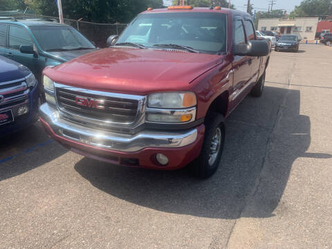 2004 GMC Sierra 2500HD for sale at Nations Auto Inc. II in Denver CO