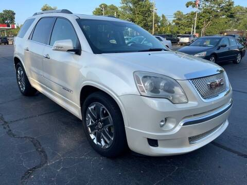 2012 GMC Acadia for sale at JV Motors NC 2 in Raleigh NC