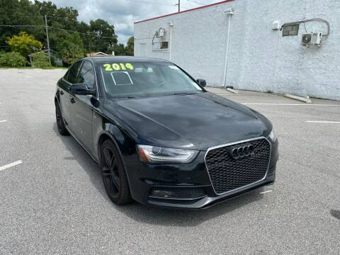 2014 Audi A4 for sale at LUXURY AUTO MALL in Tampa FL