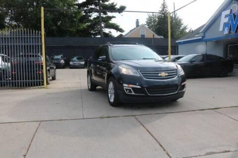 2014 Chevrolet Traverse for sale at F & M AUTO SALES in Detroit MI