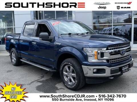 2018 Ford F-150 for sale at South Shore Chrysler Dodge Jeep Ram in Inwood NY