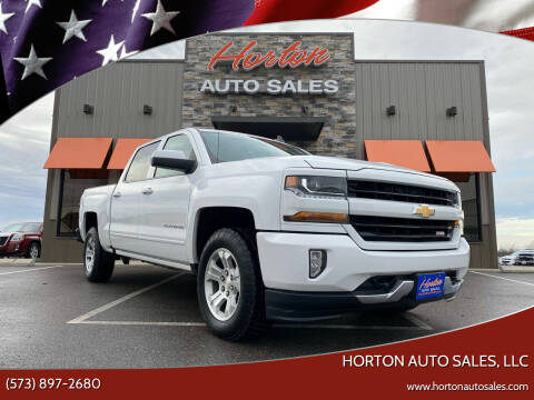 2018 Chevrolet Silverado 1500 for sale at HORTON AUTO SALES, LLC in Linn MO