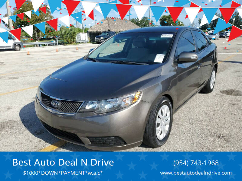 2010 Kia Forte for sale at Best Auto Deal N Drive in Hollywood FL