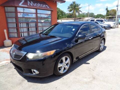2011 Acura TSX for sale at Z MOTORS INC in Hollywood FL