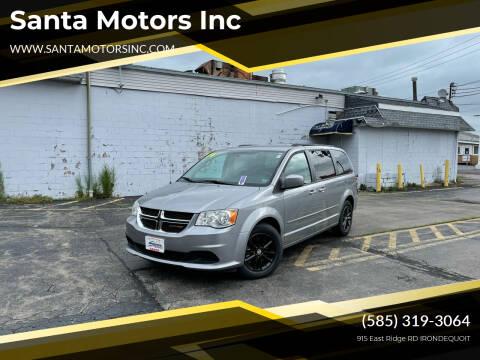 2014 Dodge Grand Caravan for sale at Santa Motors Inc in Rochester NY