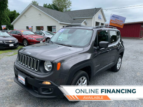 2016 Jeep Renegade for sale at Evia Auto Sales Inc. in Glens Falls NY