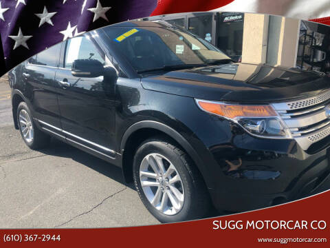 2011 Ford Explorer for sale at Sugg Motorcar Co in Boyertown PA