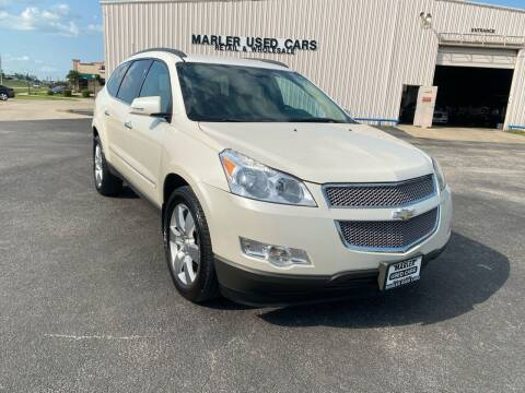 2011 Chevrolet Traverse for sale at MARLER USED CARS in Gainesville TX