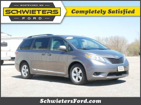 2015 Toyota Sienna for sale at Schwieters Ford of Montevideo in Montevideo MN