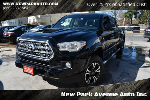 2016 Toyota Tacoma for sale at New Park Avenue Auto Inc in Hartford CT