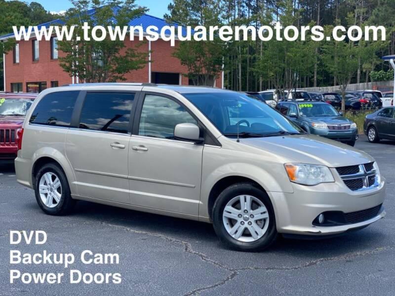 2013 Dodge Grand Caravan for sale at Town Square Motors in Lawrenceville GA