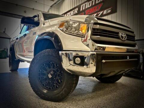 2015 Toyota Tundra for sale at Carder Motors Inc in Bridgeport WV