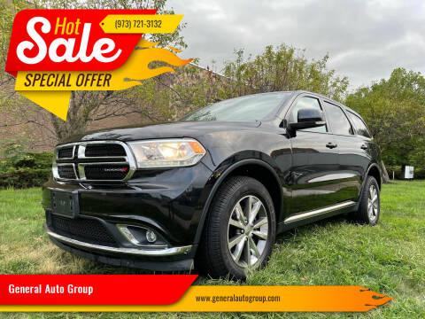 2015 Dodge Durango for sale at General Auto Group in Irvington NJ