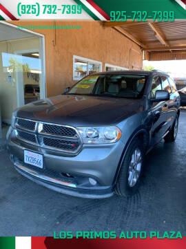 2012 Dodge Durango for sale at Los Primos Auto Plaza in Antioch CA