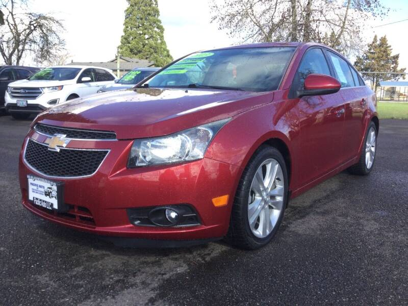 2013 Chevrolet Cruze for sale at Pacific Auto LLC in Woodburn OR