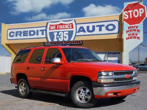 2001 Chevrolet Tahoe for sale at Buy Here Pay Here Lawton.com in Lawton OK