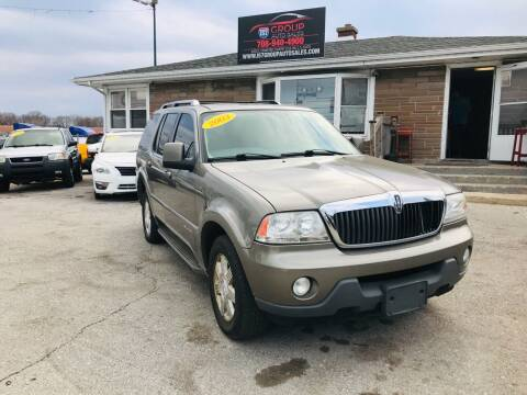 2003 Lincoln Aviator for sale at I57 Group Auto Sales in Country Club Hills IL