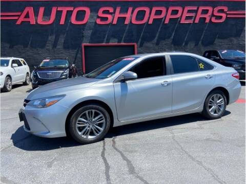 2017 Toyota Camry for sale at AUTO SHOPPERS LLC in Yakima WA