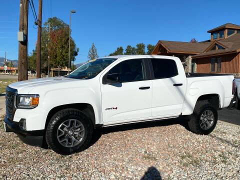 2021 GMC Canyon for sale at Salida Auto Sales in Salida CO