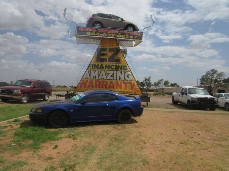 2004 Ford Mustang for sale at West Texas Consignment in Lubbock TX