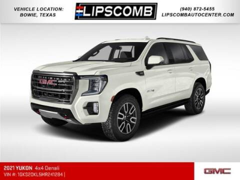 2021 GMC Yukon for sale at Lipscomb Auto Center in Bowie TX