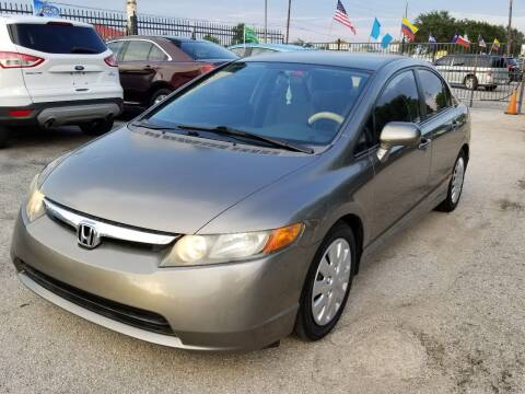 2008 Honda Civic for sale at ACE AUTOMOTIVE in Houston TX